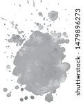 abstract watercolor grayscale... | Shutterstock .eps vector #1479896273