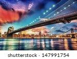 wonderful panoramic sunset with ... | Shutterstock . vector #147991754