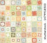 seamless pattern. checkered... | Shutterstock .eps vector #1479918503