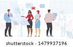 engineers scientists characters ... | Shutterstock .eps vector #1479937196