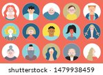people avatar face collection ... | Shutterstock .eps vector #1479938459