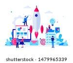 startup business illustration...