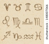 Signs Of The Zodiac Drawn By...