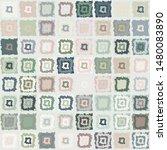seamless pattern. checkered... | Shutterstock .eps vector #1480083890