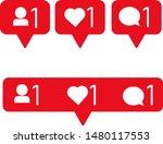 social media modern like 1 ...