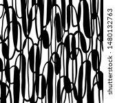 grunge brush pattern. texture.... | Shutterstock .eps vector #1480132763