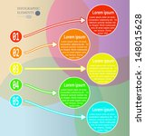 elements of infographic circles.... | Shutterstock .eps vector #148015628
