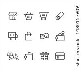 e commerce web and mobile icon... | Shutterstock .eps vector #1480157609