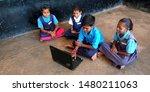 Indian Village School Students...