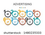 advertising infographic design...