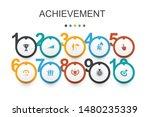 achievement  infographic design ...