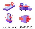 3d element object techology...   Shutterstock .eps vector #1480253990