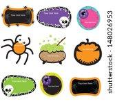 cute halloween banners | Shutterstock .eps vector #148026953