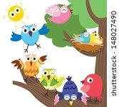 ninho de animal,temas animais,animais e animais de estimação,desenho animado,bico,ave,ninho do pássaro,desenhos animados,personagens,clip-art,bonito,animais de estimação exóticos,família,voando,diversão