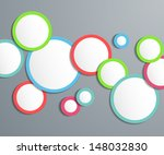 abstract background with frames ... | Shutterstock .eps vector #148032830