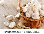 Mushrooms In The Basket....