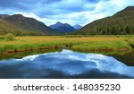 Mountain Landscape With...