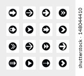 16 arrow icon set sign in...