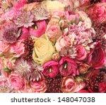 close up of wedding bouquet... | Shutterstock . vector #148047038