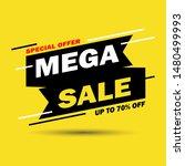 sale banner template design....   Shutterstock .eps vector #1480499993