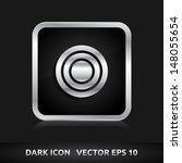 target icon   color dark black... | Shutterstock .eps vector #148055654