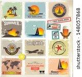 travel banner set | Shutterstock .eps vector #148057868
