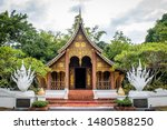 is a temple. it is a design in...   Shutterstock . vector #1480588250