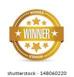 winner seal illustration design ... | Shutterstock . vector #148060220