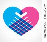 Heart Shape Design For Hand...