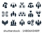 corporate people icon. group of ... | Shutterstock .eps vector #1480643489