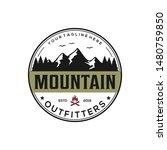 mountain  outdoor  adventure... | Shutterstock .eps vector #1480759850