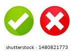true and false symbols accept...   Shutterstock .eps vector #1480821773