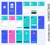 simple vector wireframe ui kit...