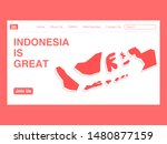 indonesia independence day... | Shutterstock .eps vector #1480877159