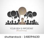 worldwide communication and... | Shutterstock .eps vector #148094630