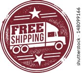 free shipping retail promotion... | Shutterstock .eps vector #148099166