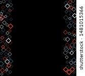 rhombus ornate minimal... | Shutterstock .eps vector #1481015366