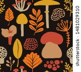 Retro Fungi Background....