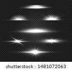 white glowing light explodes on ... | Shutterstock .eps vector #1481072063