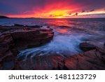 Sunrise From Thunder Hole ...