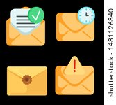mail vector icon. e mail icon....