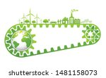 saving and ecology friendly... | Shutterstock .eps vector #1481158073