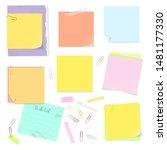 vector illustration of office... | Shutterstock .eps vector #1481177330