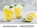 Lemonade With Lemon  Mint And...