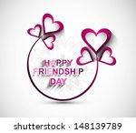 Happy Friendship Day Hearts...
