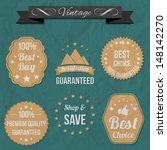 retro elements for sale   Shutterstock .eps vector #148142270