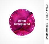 grunge sticker. pink grunge...   Shutterstock .eps vector #148145960