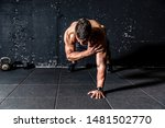 young sweaty strong and fit... | Shutterstock . vector #1481502770