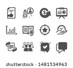 set of education icons  such as ... | Shutterstock .eps vector #1481534963