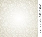 Seamless Silver Snowflakes...